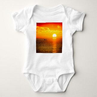 Kayak into the Sunrise Baby Bodysuit