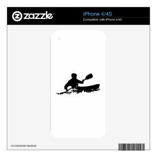 Kayak iPhone 4 Decal