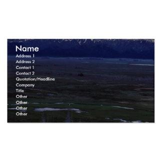 Kayak Island Prince William Sound Business Card Template