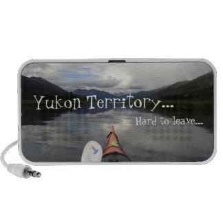 Kayak Journey; Yukon Territory Souvenir Travelling Speakers