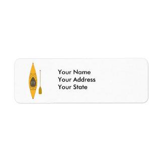 kayak label