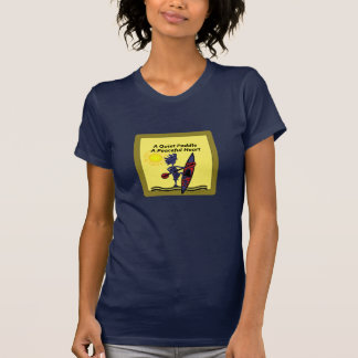 Kayak las ondas reservadas de una paleta camisetas