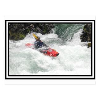 Kayak Lined Postcards