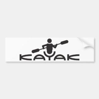 Kayak Logo Bumper Sticker Car Bumper Sticker