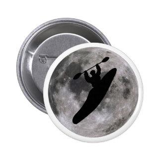 kayak lunar boof pinback button