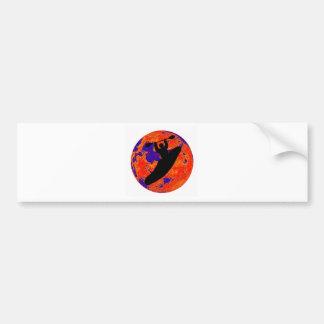 Kayak Lunar Shuttle Bumper Sticker