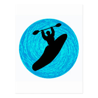 Kayak Main Lines Postcard