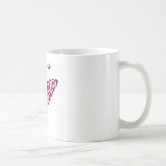 Kayak maroon twister mug