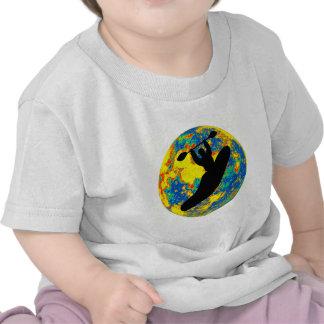 Kayak moon time shirts