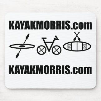 kayak morris bike canoe illinois mouse pad