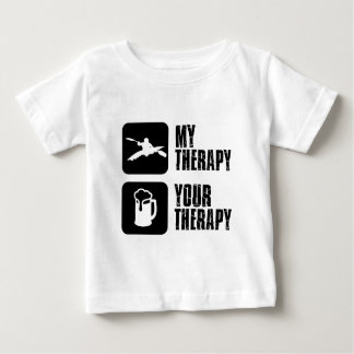 kayak my therapy designs tee shirt