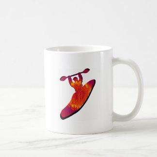 Kayak Nebulae Rising Coffee Mug