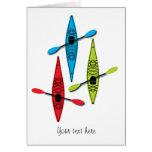 Kayak note cards