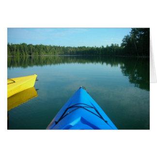 Kayak Notecard Cards