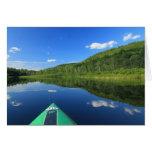 Kayak on River Greeting Card