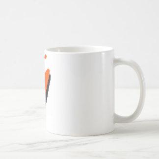 Kayak orange blaster coffee mug