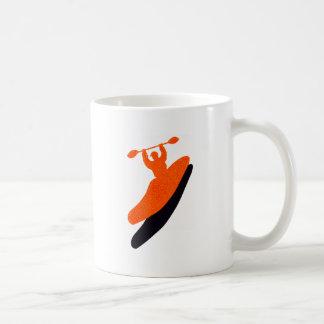 Kayak orange blaster mugs