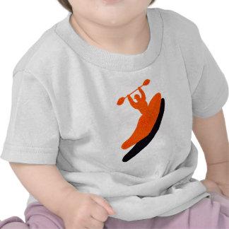 Kayak orange blaster tshirts