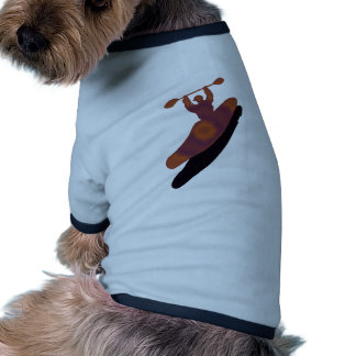 Kayak Outside Chaco Doggie T Shirt