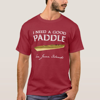 Kayak Paddler Man's Tee