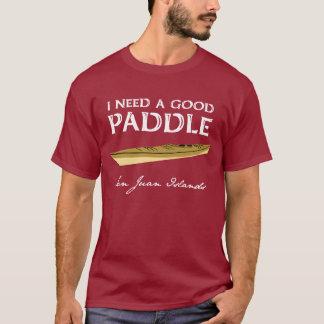Kayak Paddler Man's Tee