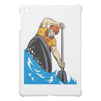 kayak paddler paddling canoe kayaking iPad mini cover