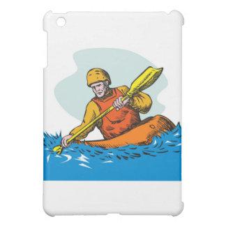 kayak paddler paddling canoe kayaking iPad mini covers