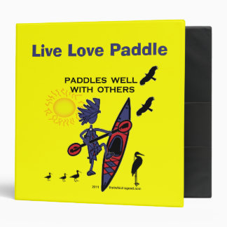 Kayak Paddles Well With Others II Binder