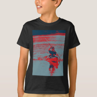Kayak Pop Art T-Shirt