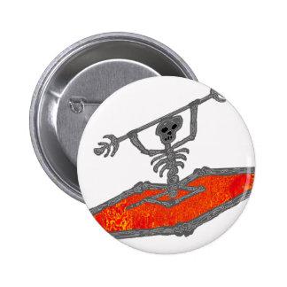 Kayak Red Bones Button