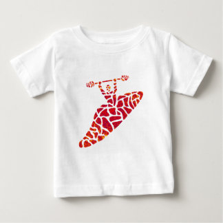 Kayak RED Sides Baby T-Shirt
