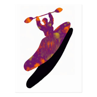 kayak russell fork postcard
