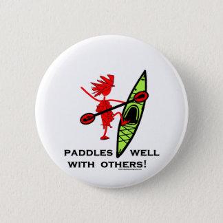 Kayak Shirt, Kayak Gift, Bumper Sticker and more! Button