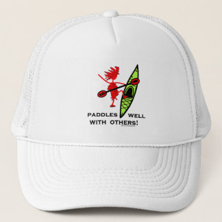 Kayak Shirt, Kayak Gift, Bumper Sticker and more! Trucker Hat