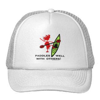 Kayak Shirt, Kayak Gift, Bumper Sticker and more! Trucker Hat