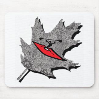 kayak silver dew mouse pad