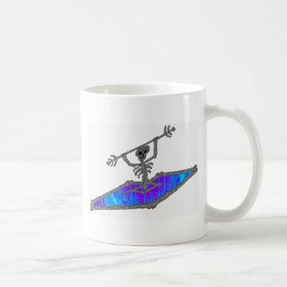 Kayak Soully Bones Coffee Mug