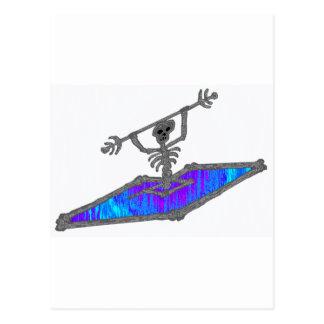 Kayak Soully Bones Postcard