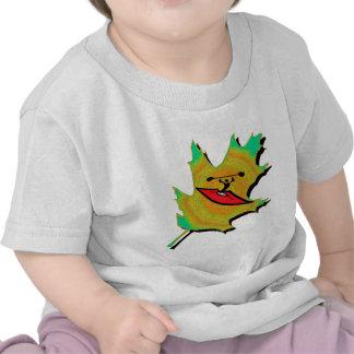 Kayak Spring Leaves Tee Shirts
