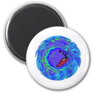 Kayak State Go 2 Inch Round Magnet