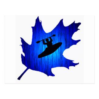 Kayak Surf Rounds Post Cards