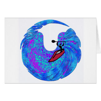 kayak Surf Vibes Card