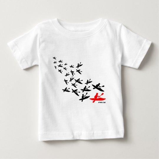 Kayak Swarm Baby T-Shirt