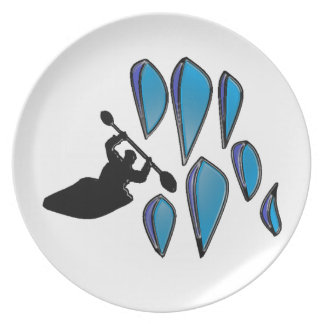 KAYAK THE YOUGH DINNER PLATE