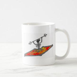 Kayak They Crazy Coffee Mugs
