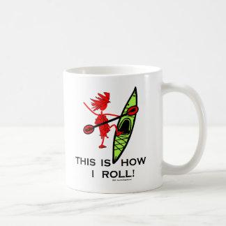 Kayak: This Is How I Roll! Coffee Mug