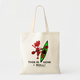 Kayak This Is How I Roll II Tote Bags