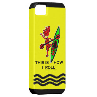 Kayak This Is How I Roll II iPhone 5 Covers