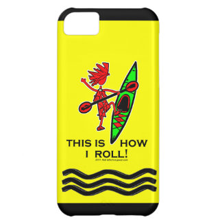 Kayak This Is How I Roll II iPhone 5C Cases