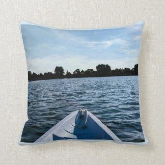 Kayak Throw Pillow